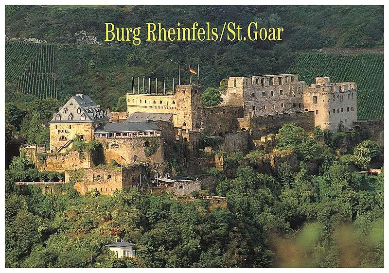 St Goar Hotel Rheinfels